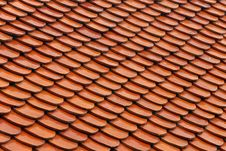 Free Roof Tiles Royalty Free Stock Images - 26480999