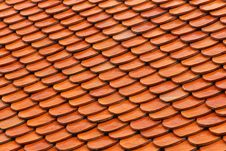 Free Roof Tiles Royalty Free Stock Photos - 26481008