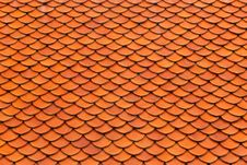 Free Roof Tiles Royalty Free Stock Photo - 26481155