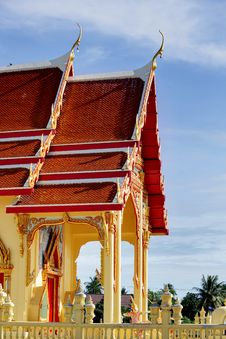 Free Thai Church Royalty Free Stock Photography - 26481347