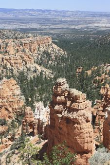 Free Bryce Hoodoos Stock Photography - 26488132