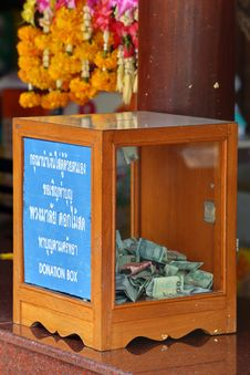 Free Donation Box Royalty Free Stock Images - 26488409