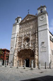 Free Church Of San Pablo Stock Image - 26489571
