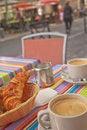 Free Breakfast On The Street Stock Image - 26492601