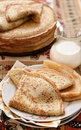 Free Pancakes In A Rustic Style Stock Photo - 26495520