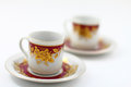 Free Two Traditional Arabic Coffee Cups Stock Image - 26495811