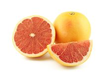 Free Grapefruit, Half And Slice Royalty Free Stock Images - 26496239