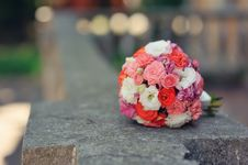 Free Bridal Bouquet Stock Photos - 26499253