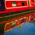 Free Red Barge Stock Photo - 2650510