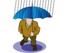 Free Rain And Umbrella Stock Photos - 2650963
