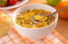 Free Cup Of Cornflakes Royalty Free Stock Photo - 2652365