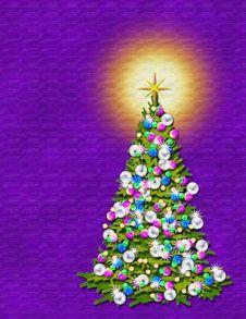 Free A Christmas Tree Royalty Free Stock Photo - 2652915