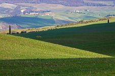 Free Landscape,Tuscany Val D Orcia Royalty Free Stock Photos - 2654408