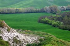 Landscape,Tuscany Val D Orcia Royalty Free Stock Photos