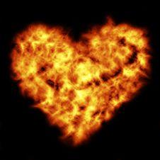Free Burning Heart Royalty Free Stock Image - 2655096