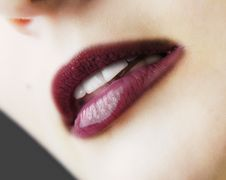 Free Lips Royalty Free Stock Photography - 2655207