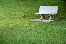 Free Bench In A Park Stock Photography - 2655232