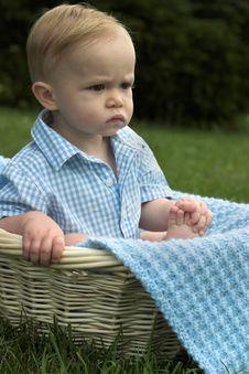 Free Basket Baby Stock Photos - 2655883
