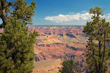 View Of Grand Canyon, Arizona Stock Photo
