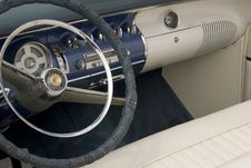 Detail Of A Classic Car Stock Image