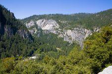 El Capitan In Yosemite Royalty Free Stock Images