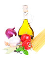 Free A Bottle Of  Olive Oil Stock Photography - 26501922