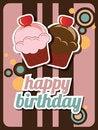 Free Cupcake Invitation Stock Photography - 26502682
