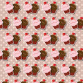 Free Cupcake Background Stock Image - 26502701