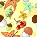 Free Seamless Autumn Texture Royalty Free Stock Photography - 26502807