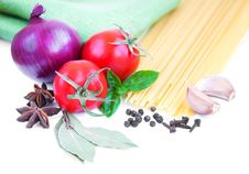 Free Pasta And Vegetables Stock Image - 26501931