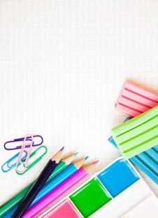 Free School Supplies Royalty Free Stock Images - 26501949