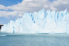 Free Glacier Moreno In Terra Del Fuego ,Argentina Royalty Free Stock Photo - 26504555