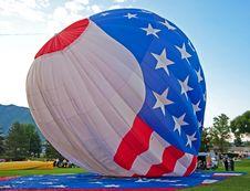 Free USA Hot Air Ballon Stock Photo - 26504730