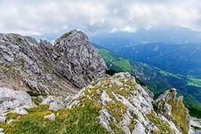 Free View From Peca Mountain, Slovenia. Royalty Free Stock Images - 26508389