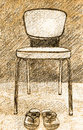 Free Illustration Old Chair Stock Photo - 26514220