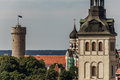 Free Tall Hermann Tower And Churches Royalty Free Stock Photos - 26517678