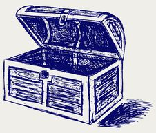 Free Chest Sketch Royalty Free Stock Photo - 26513795