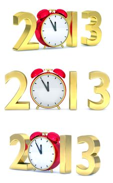 Free 2013 Year Collection Stock Photo - 26513910