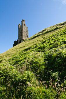 Free Dunstanburgh Tower Royalty Free Stock Photos - 26514048
