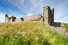Free Dunstanburgh Castle Close Up Royalty Free Stock Photography - 26514067
