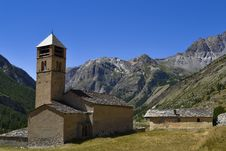 Free Little Church In Alps Royalty Free Stock Photography - 26514177