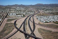 Free Red Mountain Freeway Stock Photos - 26514333