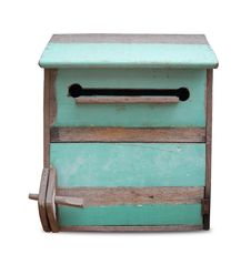 Free Vintage Wooden Mailbox. Royalty Free Stock Images - 26514499