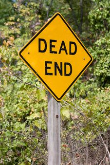 Free Dead End Sign Royalty Free Stock Image - 26516926