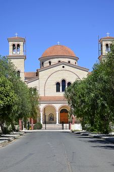 Free Monastery In Cyprus Stock Photography - 26517162