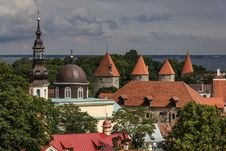 Free Tallinn City Wall Royalty Free Stock Images - 26517669