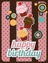 Free Cupcake Invitation Royalty Free Stock Photos - 26528818
