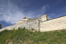 Rasnov Citadel, Romania Royalty Free Stock Photos