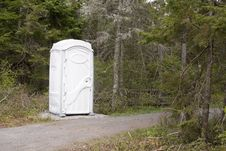 Free White Rest Stop Stock Image - 26527491