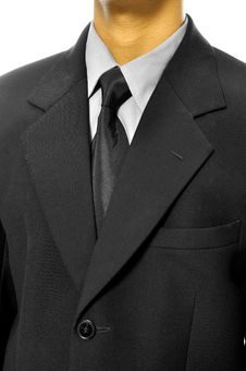 Free Black Business Suit Stock Photos - 26528023